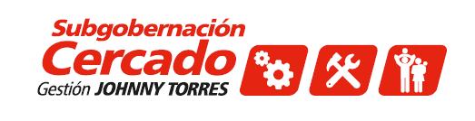 SUBGOBERNACIÓN DE CERCADO